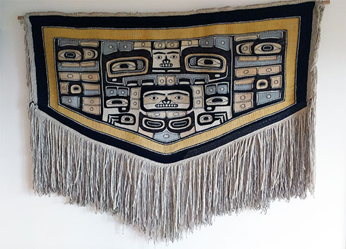 "jpg Family Gives ""One-of-a-Kind"" Chilkat Robe to Sealaska Heritage Institute"