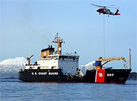 Coast Guard Cutter Maple reaches Northwest Passage during historic voyage
