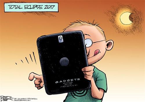 jpg Editorial Cartoon: Total Eclipse