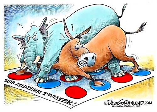 jpg Political Cartoon: Midterms 2018 Twister