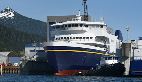 Public Invited to Join First Lady Donna Walker in Christening of the First Alaska Class Ferry