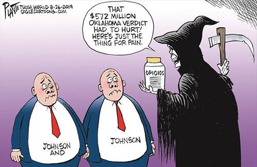 jpg Political Cartoon: Johnson and Johnson