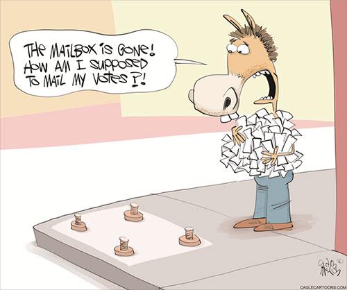 jpg Political Cartoon: Missing Mailboxes