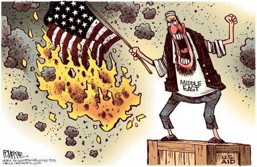 jpg Political Cartoons - Mideast Unrest & U.S. Aid