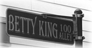 jpg Betty King Alley sign