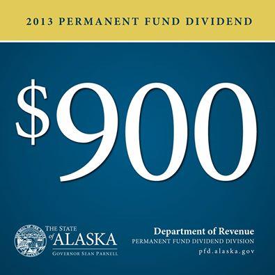 SitNews: 2013 Permanent Fund Dividend is $900