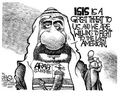 jpg Political Cartoon: Fight To The Last American