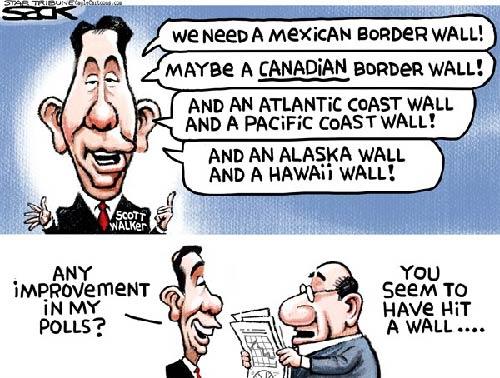 jpg Political Cartoon: Canadian Wall