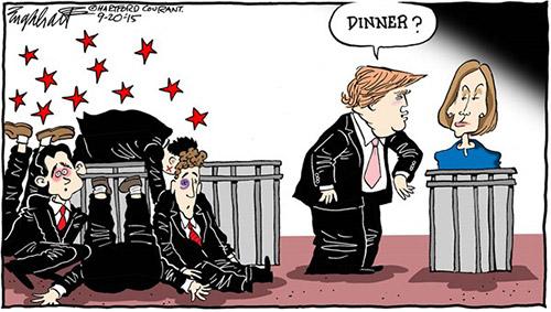 jpg Political Cartoon: GOP Debates