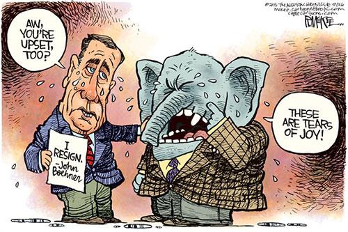 jpg Political Cartoon: Boehner Quits