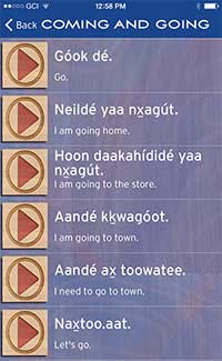 FIRST TLINGIT LANGUAGE AND GAMES APPS RELEASED