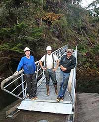 Naha River National Recreation trail ramp replaced
