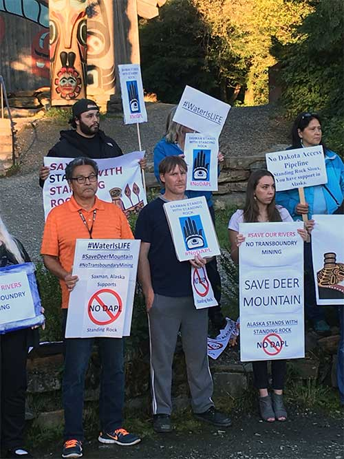 jpg Saxman Environmental Rally; Another Rally Scheduled