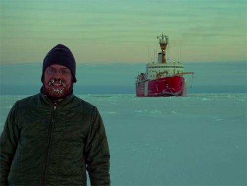 jpg Peter K. Peterson studies atmospheric chemistry in the Arctic.