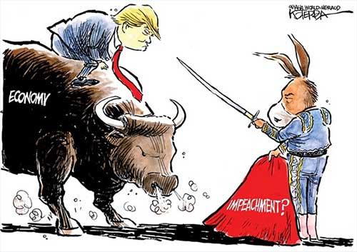 jpg Political Cartoon: 2018 Showdown