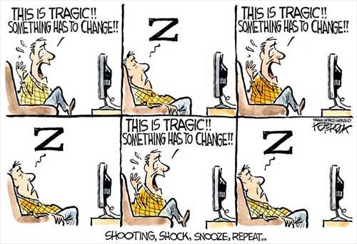 jpg Political Cartoon: Tragic Repetition