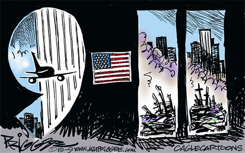 jpg Political Cartoon: 911 Anniversary