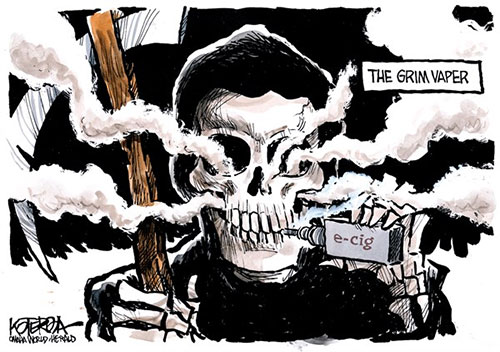 jpg Political Cartoon: Smoke Gets in Your Eyes