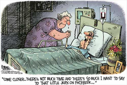 jpg Political Cartoon: Facebook Arguing
