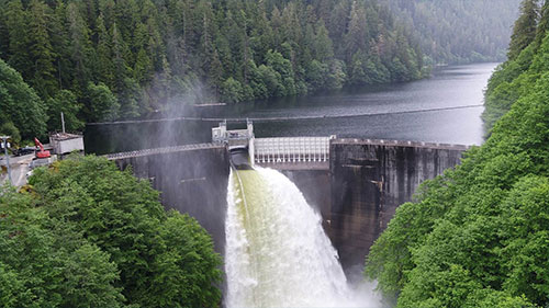 Swan Lake Hydroelectric Facility Expansion Utilized after Record Rainfall