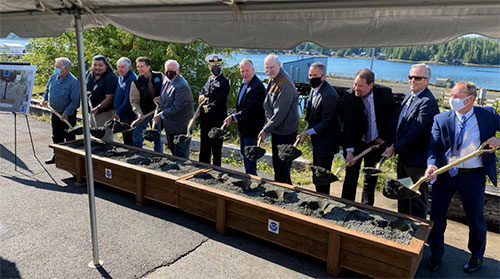 NOAA Breaks Ground On Project To Rebuild Ketchikan Port Facility