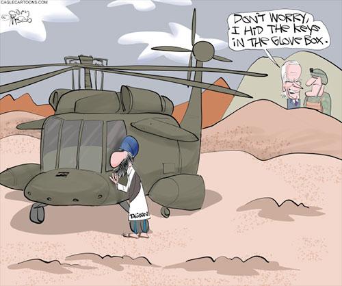 jpg Political Cartoon: Gifts To Taliban