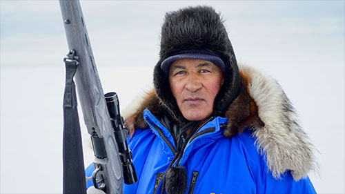 Climate change threatens seal hunting by Indigenous Alaskans