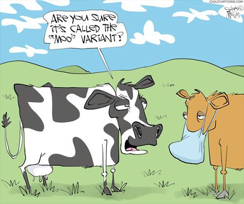 jpg Political Cartoon: Mu (moo) Variant