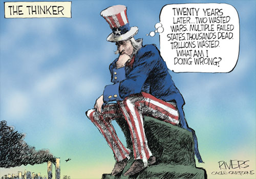 jpg Political Cartoon: The Thinker