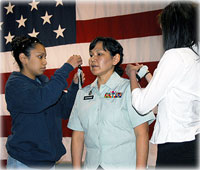 Alaska Native First Federally Recognized Female Sergeant Major
