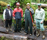 Angoon trail crew links generations, cultures