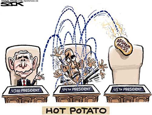 jpg Political Cartoon: Hot Potato War