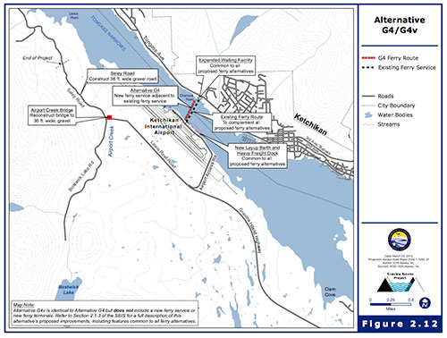 jpg State to Pursue Ferry Alternative for Gravina Access