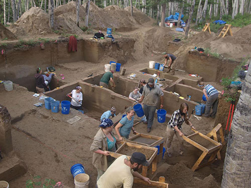 jpg Ancient babies boost Bering land bridge layover; DNA links many Native Americans to infants in Alaskan grave
