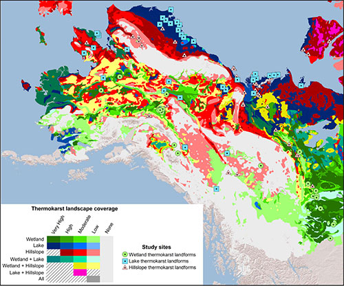 jpg New permafrost map shows regions vulnerable to thaw, carbon release