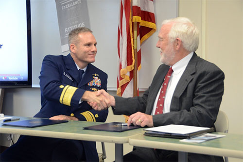jpg UAS first Alaskan college to host Coast Guard's College Student Pre-Commissioning Initiative