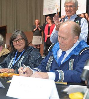 jpg Historic Alaska Tribal Child Welfare Compact Signed