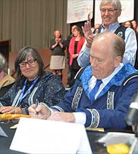 Historic Alaska Tribal Child Welfare Compact Signed
