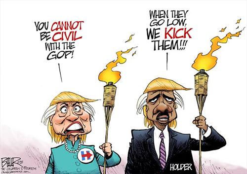 jpg Political Cartoon: Uncivil Democrats