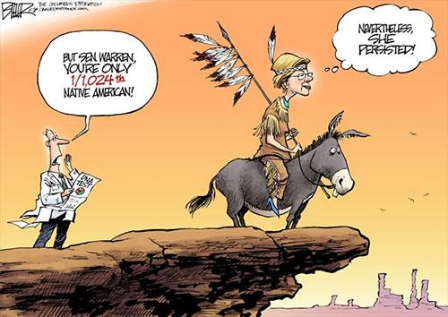 jpg Political Cartoon: Elizabeth Warren