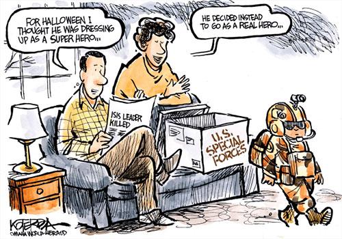 jpg Political Cartoon: A Special Costume