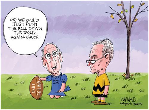 jpg Political Cartoon: Punting the ball
