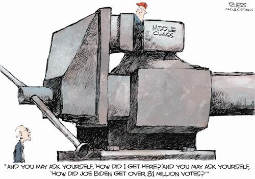 jpg Political Cartoon: Middle Class Squeese