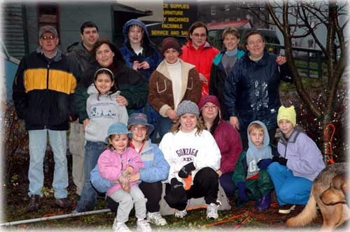"Front Page Photo ""Winter Wonderland"" Volunteers"