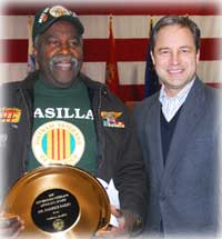 Maurice Bailey Presented Governor's Veterans Advocacy Award
