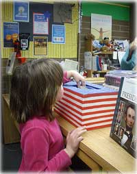 Kids Pick the President at the Ketchikan Public Library