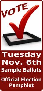 Vote November 6, 2012