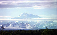 of Alaska Range; 'Dramatic topography' is 25 million years in making