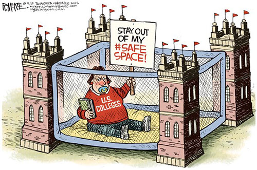 jpg Political Cartoon: College Safe Spaces