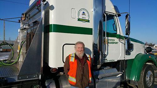 jpg Lynden Transport's nationally recognized driver John Schank